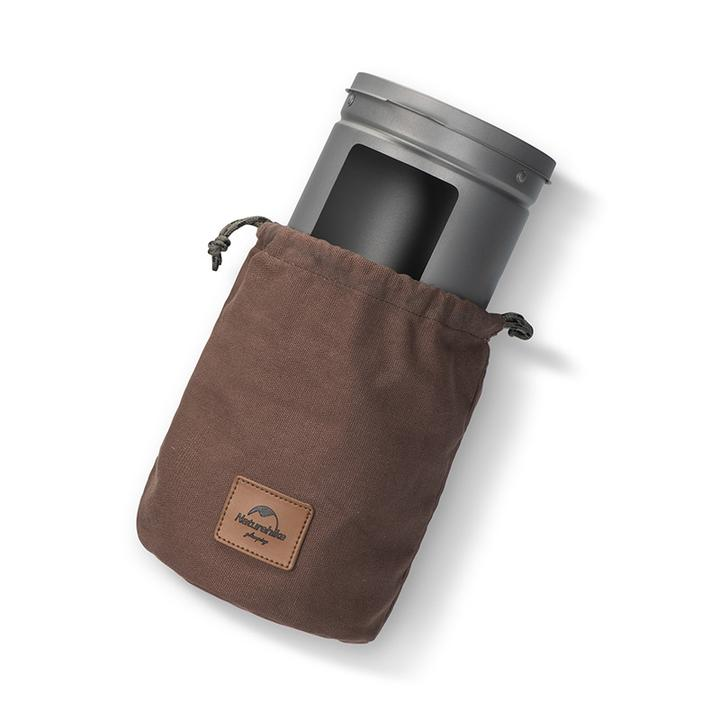 Bếp củi mini Naturehike NH20RJ005 có túi đựng tiện dụng