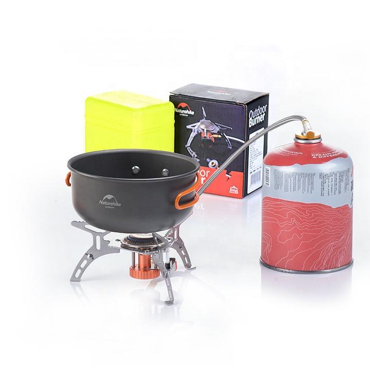 Bạn có thể sử dụng bếp ga dã ngoại Naturehike NH17L040-T để nấu ăn, đun nước pha trà