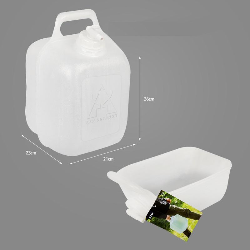 Bình đựng nước dã ngoại có vòi gấp gọn Kazmi K9T3K008 10L/20L