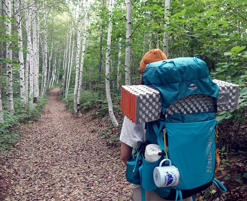 Đệm gấp gọn du lịch Naturehike NH19QD008 thuận tiện đem theo khi đi rừng, đi phượt