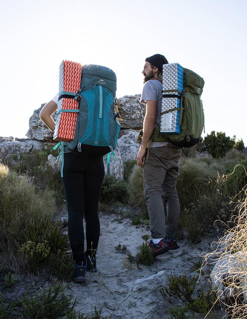 Đệm gấp gọn du lịch Naturehike NH19QD008 nhỏ gọn có thể đem theo khi leo núi