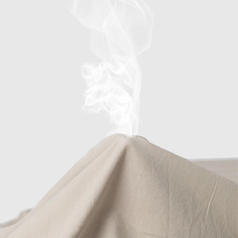 Chất liệu vải ngoài là sợi tổng hợp 30D Polyester pha Cotton