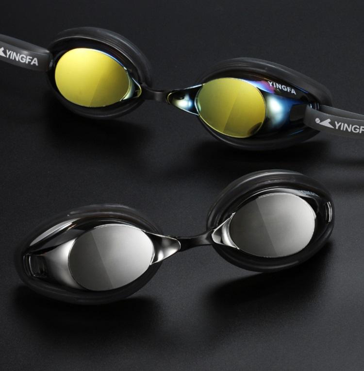Kính bơi cao cấp chuyên nghiệp chống nước và sương mù Yingfa Y330AF (M) với 2 màu