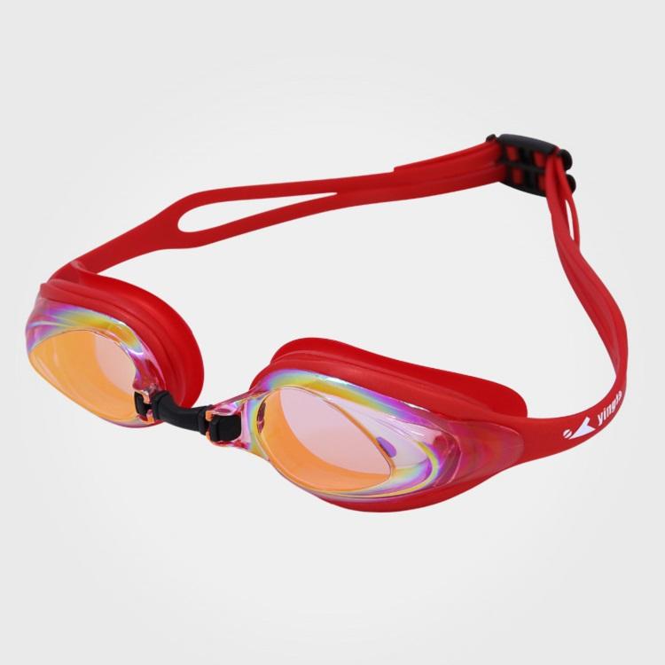 Kính bơi chống nước và sương mù Yingfa Y110AF (V) màu đỏ