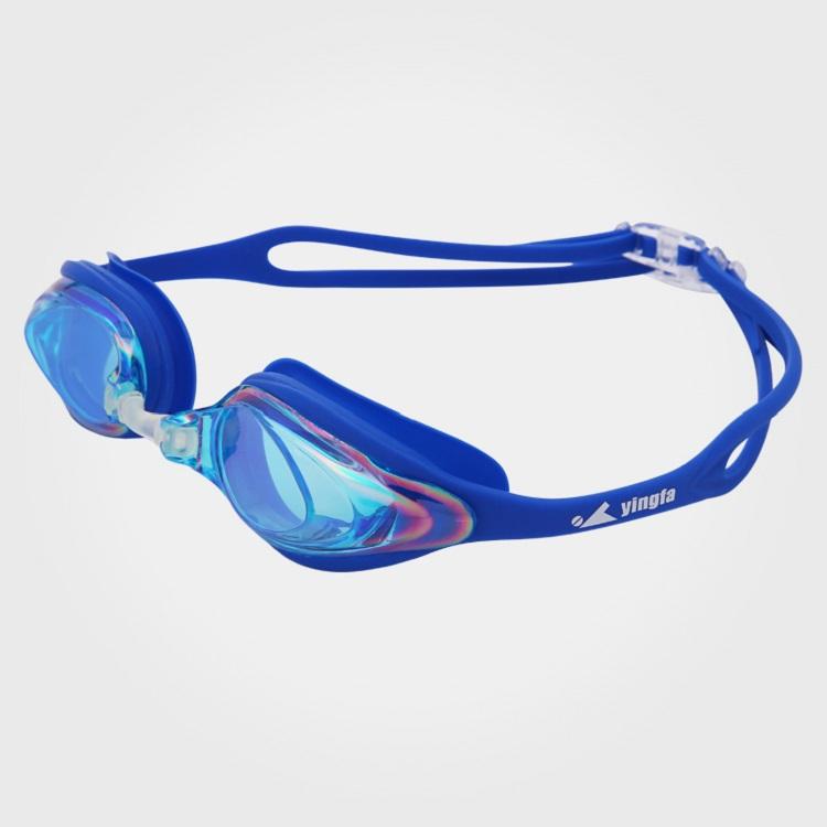 Kính bơi chống nước và sương mù Yingfa Y110AF (V) màu xanh