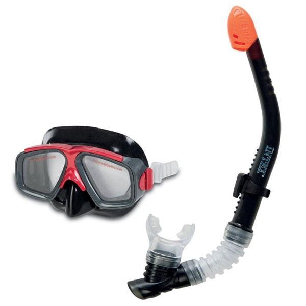 Kính bơi có ống thở Intex 55949 màu đen