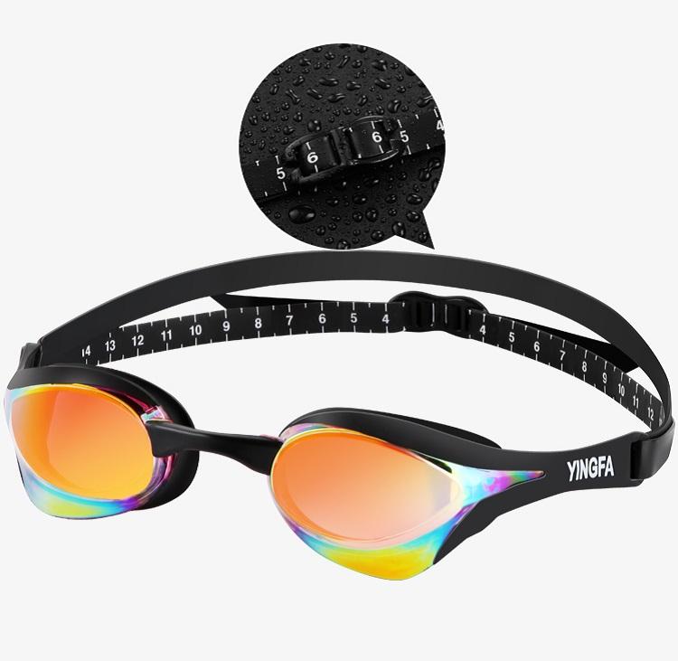 thiết kế Kính bơi mạ crom nhiều màu, chống sương mù Yingfa Y828AF (V)