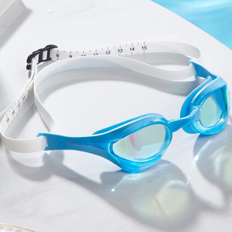 Kính bơi mạ crom nhiều màu, chống sương mù Yingfa Y828AF (V) màu xanh