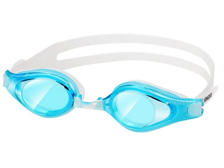 Kính bơi Yingfa Y2900AF chống sương mù và ánh sáng ngang màu xanh