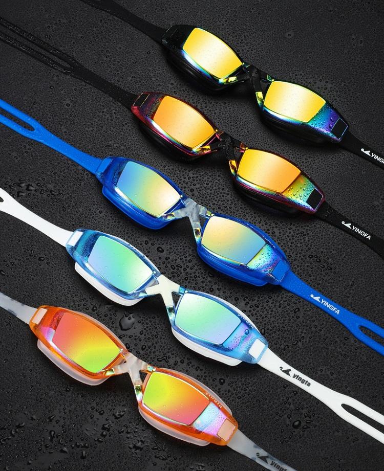 Kính bơi chống mờ tráng phủ Yingfa Y1300AF (V) với 4 màu