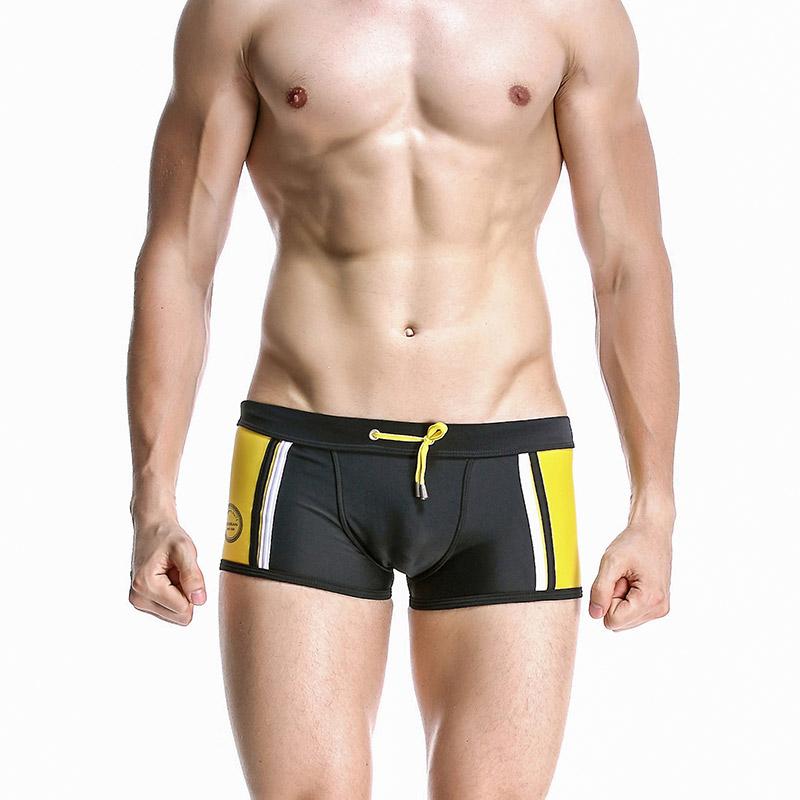quần bơi cho nam Seobean SB10006 màu đen