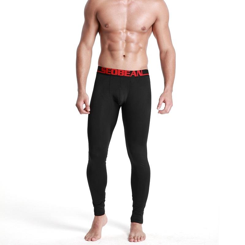 Quần bơi nam dài Seobean SB10027 màu đen