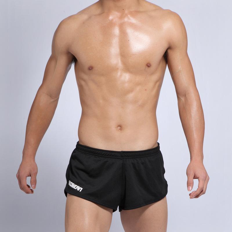 Quần đùi bơi nam Seobean SB10030 màu đen