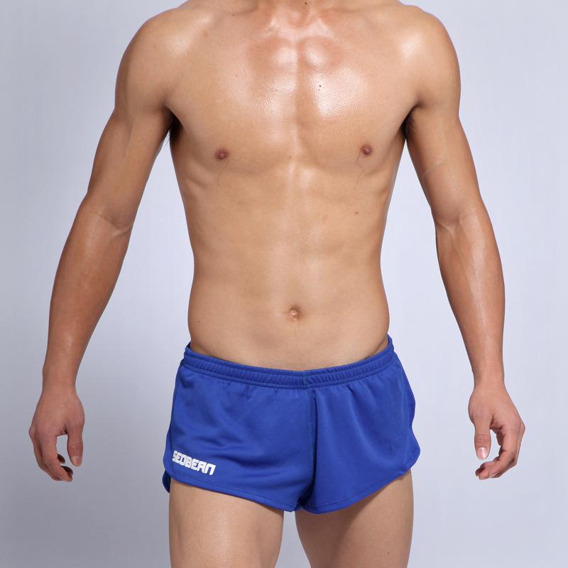 Quần đùi bơi nam Seobean SB10030 màu xanh