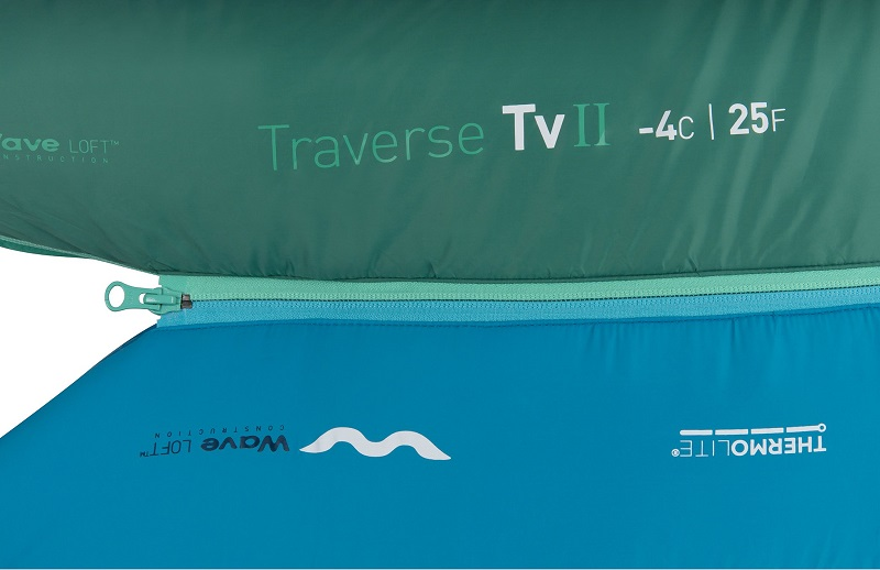 Thiết kế khóa YKK chắc chắn, trơn tru của túi ngủ Sea to Summit Venture Vtll STMVTL103