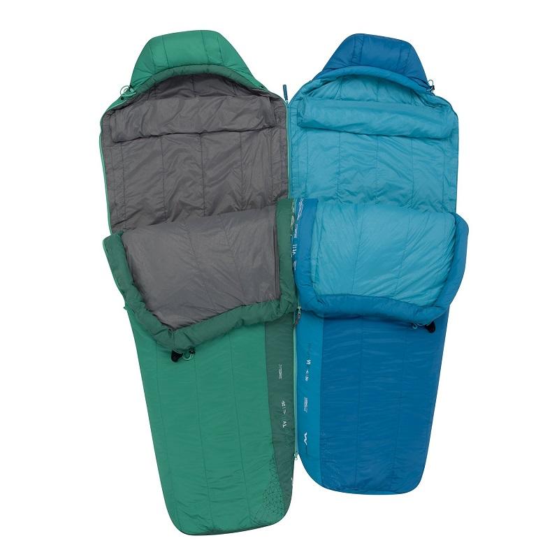 Thiết kế zip có thể nối hai túi ngủ lại với nhau của Sea to Summit Venture Vtll STMVTL103