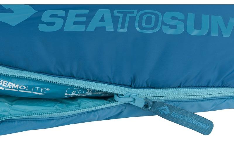 Thiết kế khóa kéo YKK chắc chắn của túi ngủ Sea to Summit Venture Vtll STMVTL103