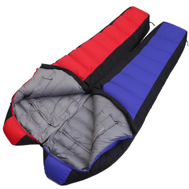 Túi ngủ con nhộng lông vũ Roticamp Extreme R005