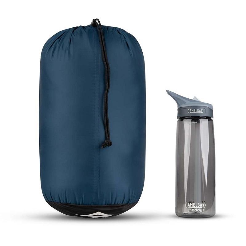 Khả năng gấp gọn, tiện dụng của túi ngủ Sea to Summit Trailhead ThIII STMTH308