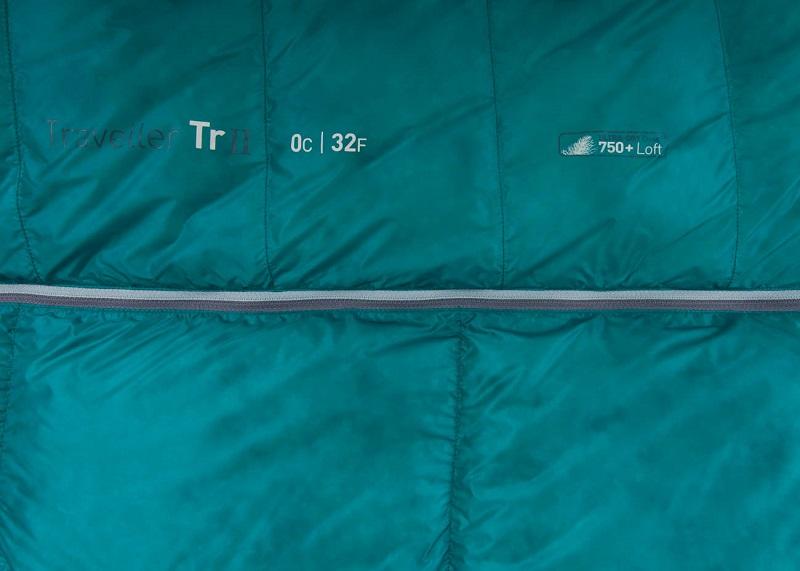 Phần khóa zip dễ dàng nối với những chiếc túi ngủ khác của dòng Sea to Summit Traveller TrII STMTR207 M & L