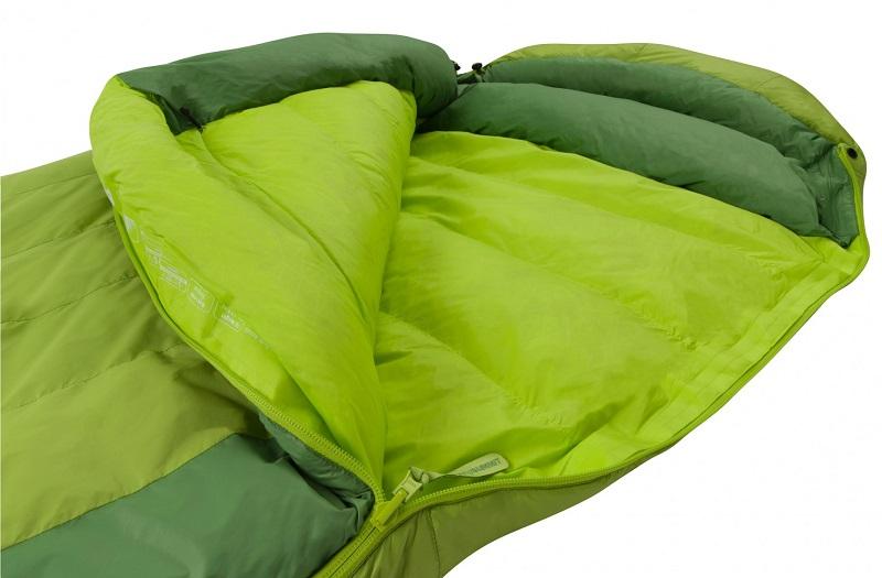 Chất liệu lông vũ cao cấp, mềm mại của túi ngủ Sea to Summit Ascent AcII STMAC211