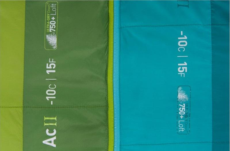 Túi ngủ Sea to Summit Ascent AcII STMAC211 với chất liệu lông vũ mềm mại