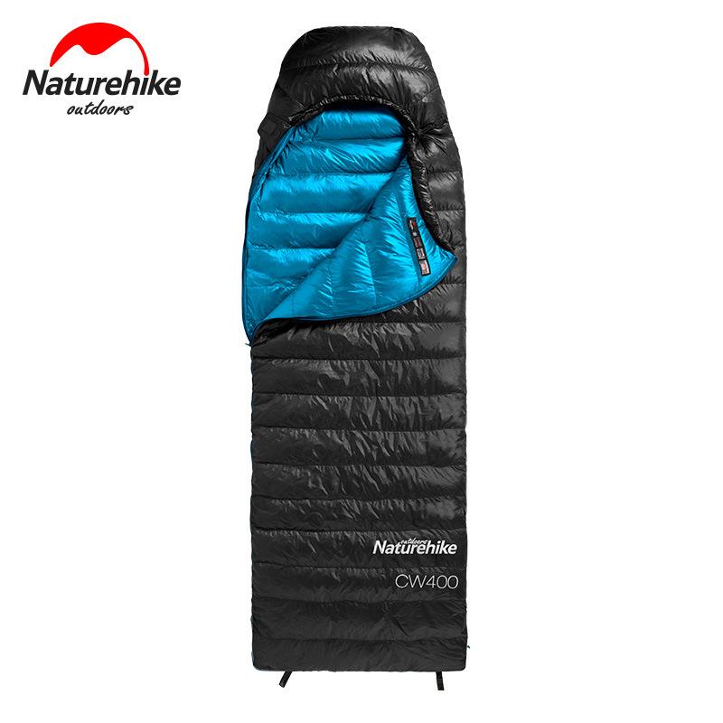 Túi ngủ lông vũ Naturehike CW400 màu đen