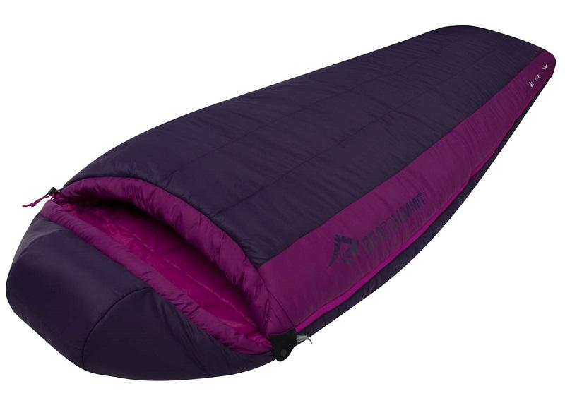 Túi ngủ du lịch Sea to Summit Quest QuII STMQU210 màu đen tím