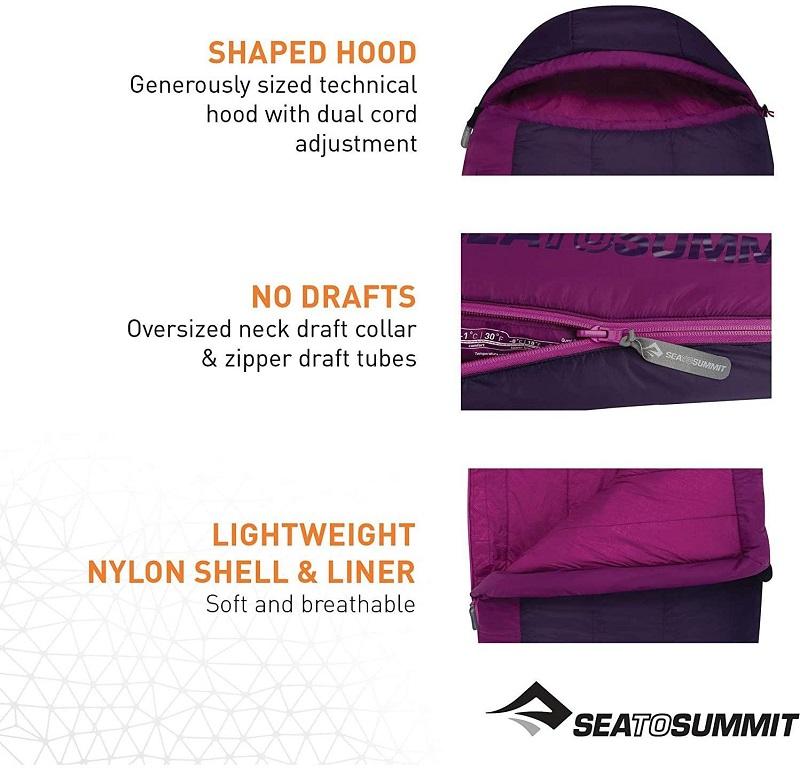 Thiết kế mũ với dây rút của túi ngủ văn phòng