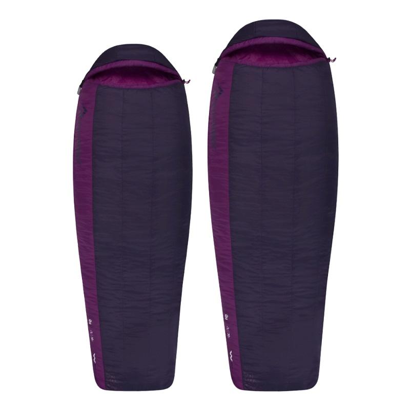 Túi ngủ nữ Sea to Summit Quest QuII STMQU210 màu đen tím