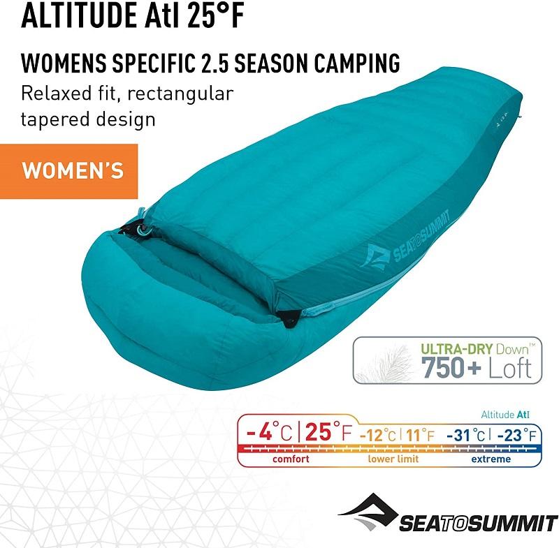 Túi ngủ mùa đông Sea to Summit Altitude AtI STMATL01 cao cấp