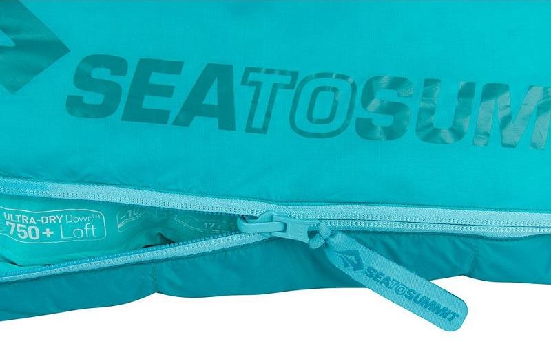 Thiết kế khóa 5YYK của túi ngủ nữ Sea to Summit Altitude AtI STMATL01 chắc chắn