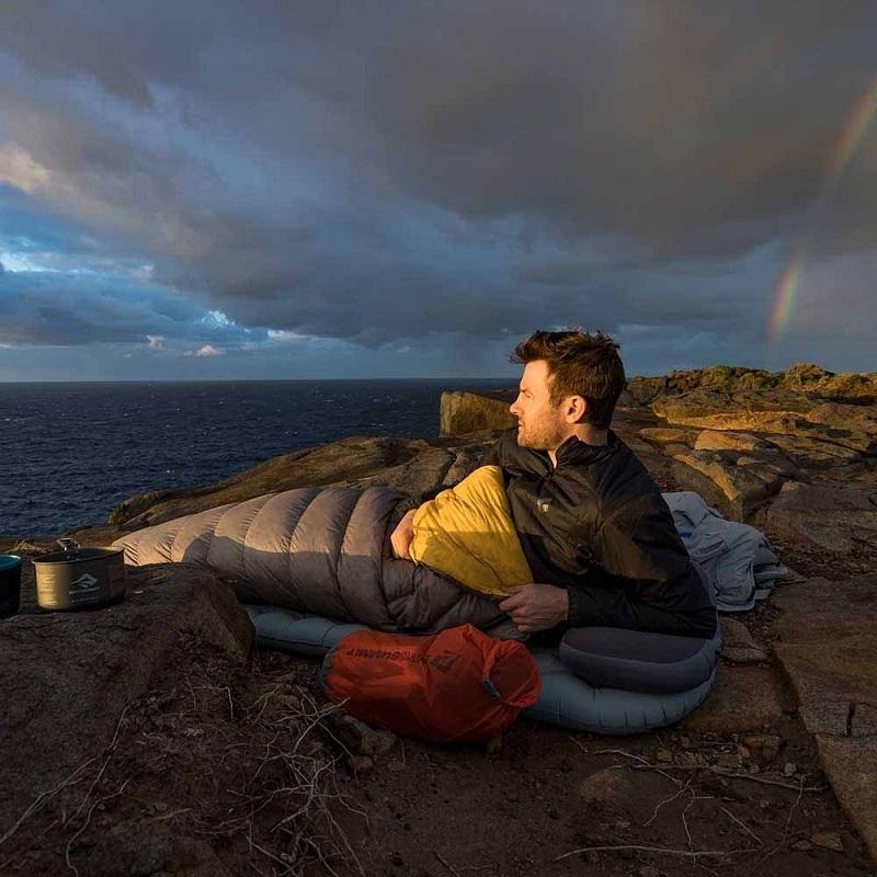 Sử dụng túi ngủ siêu nhẹ Sea to Summit Spark SpII STMSP204 khi leo núi