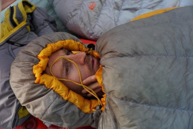 Phần mũ với dây rút giữ nhiệt của túi ngủ Sea to Summit Spark SpII STMSP204