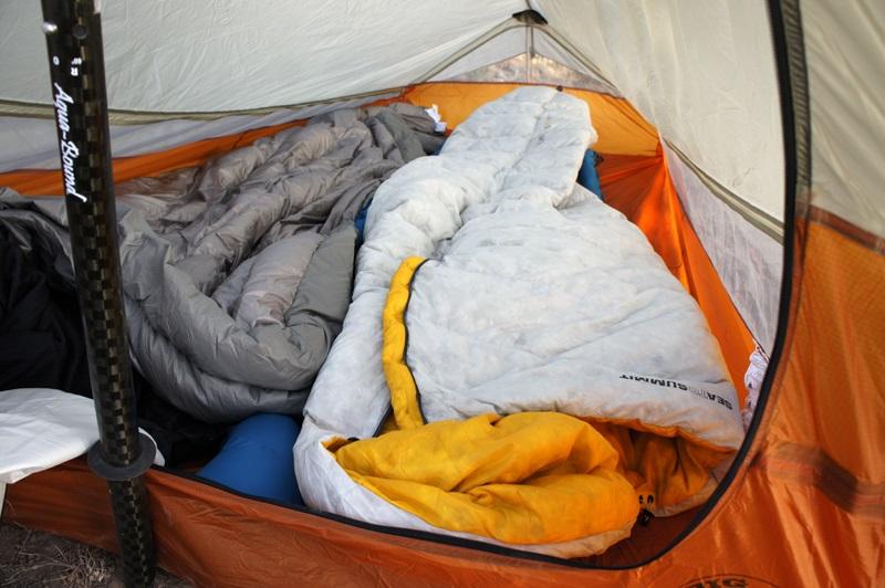 Túi ngủ Sea to Summit Spark SpI STMSPL02 với chất liệu lông vũ mềm mại, ấm áp