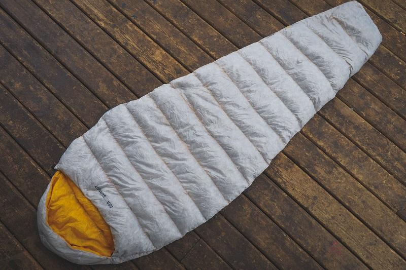 Túi ngủ mùa đông Sea to Summit Spark SpI STMSPL02 với thiết kế hình con nhộng
