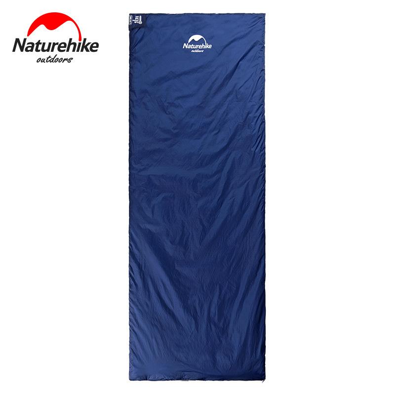 Túi ngủ trưa văn phòng Natutehike LW180 màu xanh than