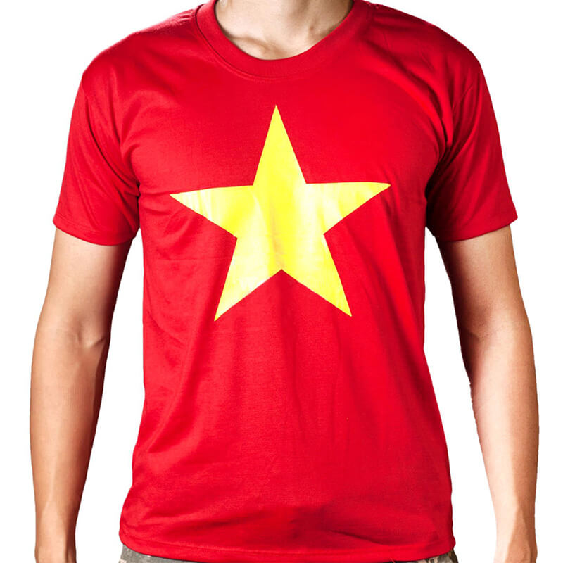 áo cờ đỏ sao vàng chất đẹp