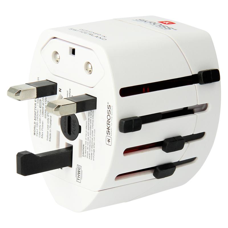 Ổ Cắm Chuyển Đổi Đa Năng Skross World Adapter EVO