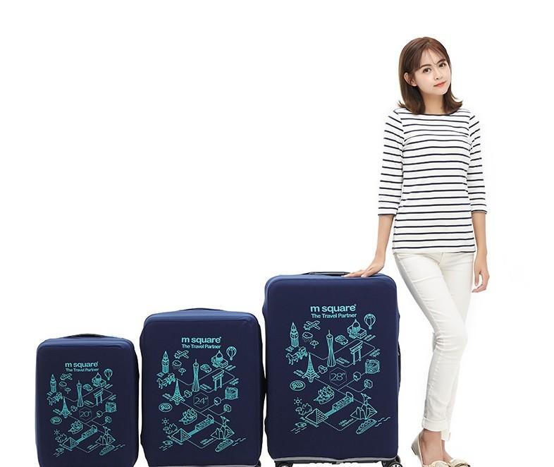 Áo bọc vali Msquare