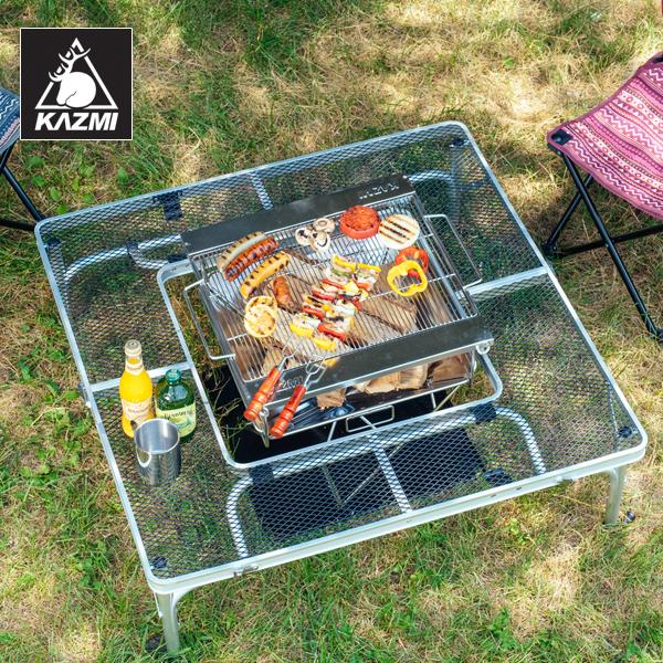 bàn xếp thông minh để đựng bếp nướng của Kazmi