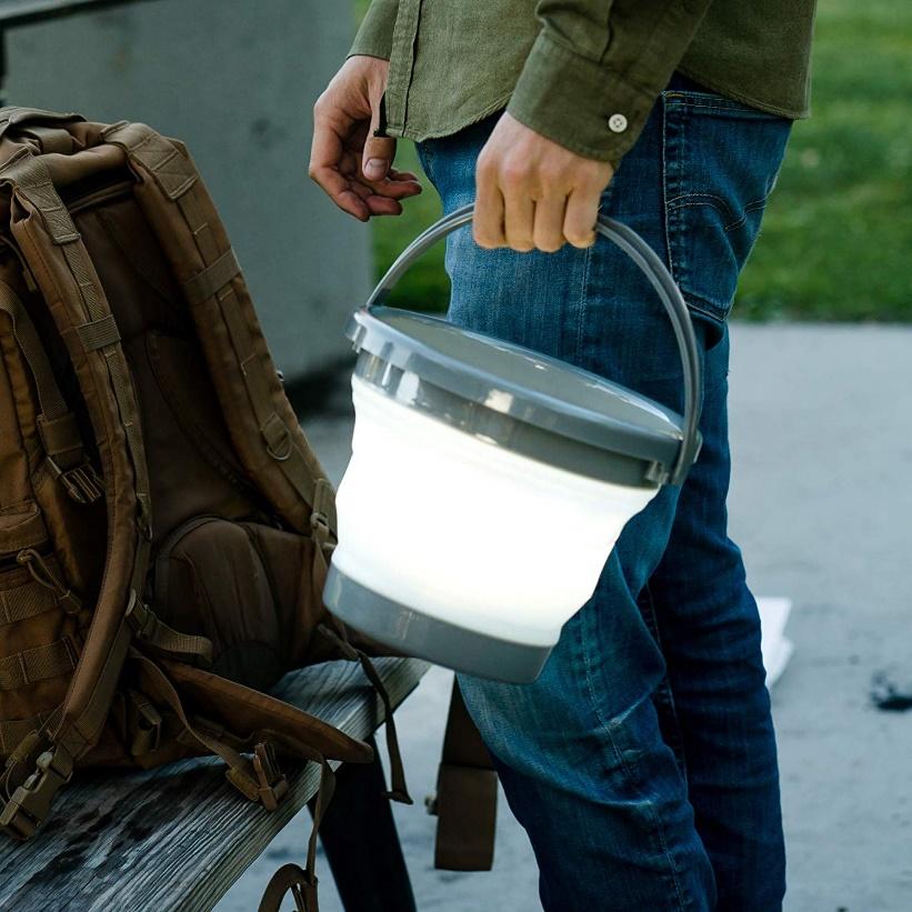 thiết kế độc đáo, sáng tạo của đèn pin chiếu sáng đa năng Nebo