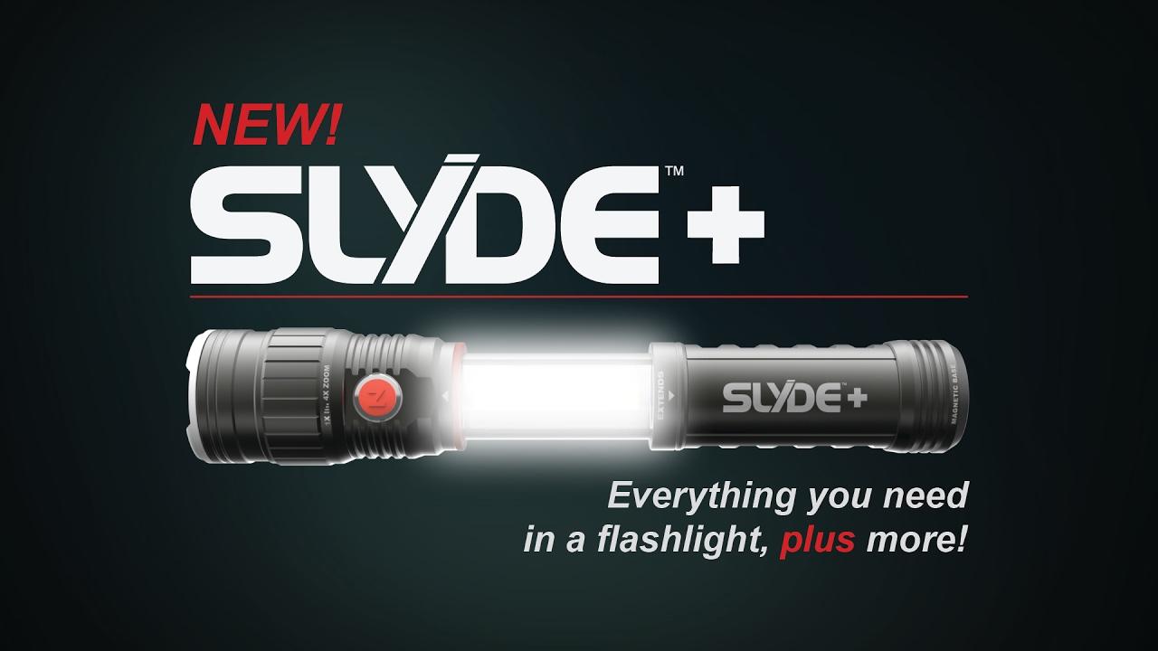 thiết kế ấn tượng cùng khả năng chiếu sáng vượt trội của mẫu đèn pin cầm tay Nebo