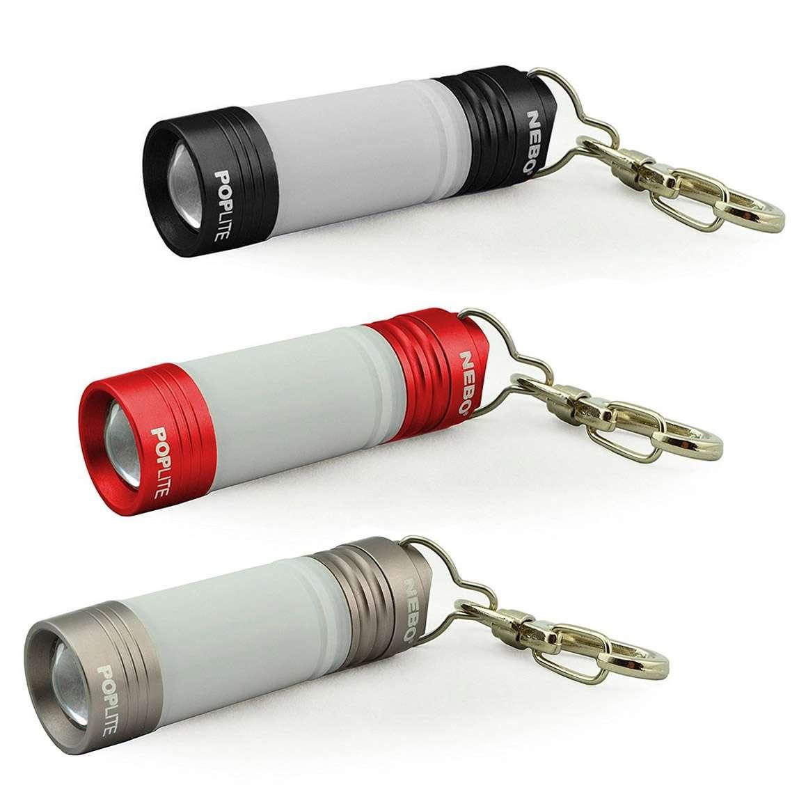 có 3 mẫu đèn pin mini Nebo Poplite cho bạn chọn lựa
