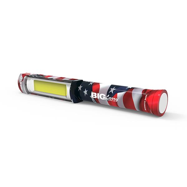 thiết kế bền chắc và hợp thời trang của đèn pin siêu sáng chính hãng Big Larry