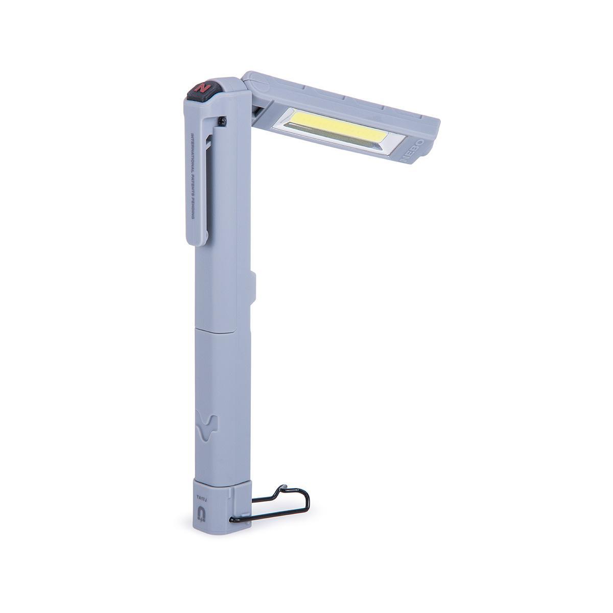 đèn pin chiếu sáng chính hãng Nebo màu xám