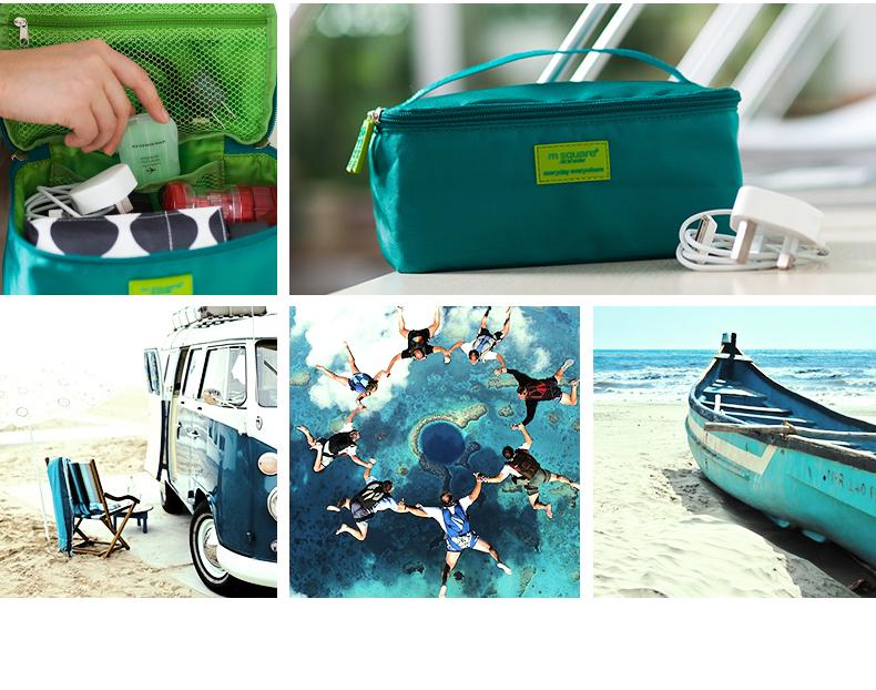 bộ túi du lịch 5 món nhỏ gọn và tiện dụng