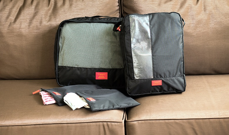 kích thước set túi du lịch rất nhỏ gọn của Msquare