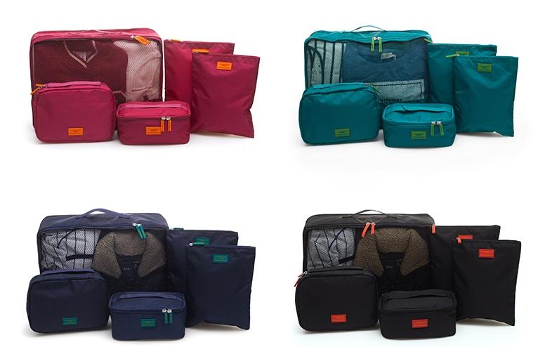 set túi du lịch đựng đồ cá nhân Msquare nhỏ gọn