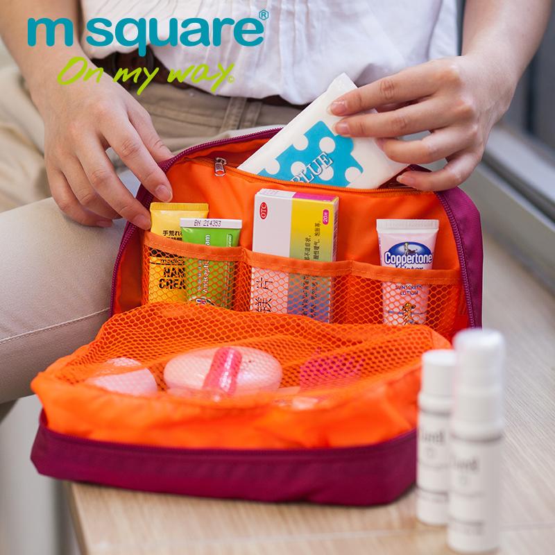 túi du lịch đựng mỹ phẩm đồ trang điểm Msquare